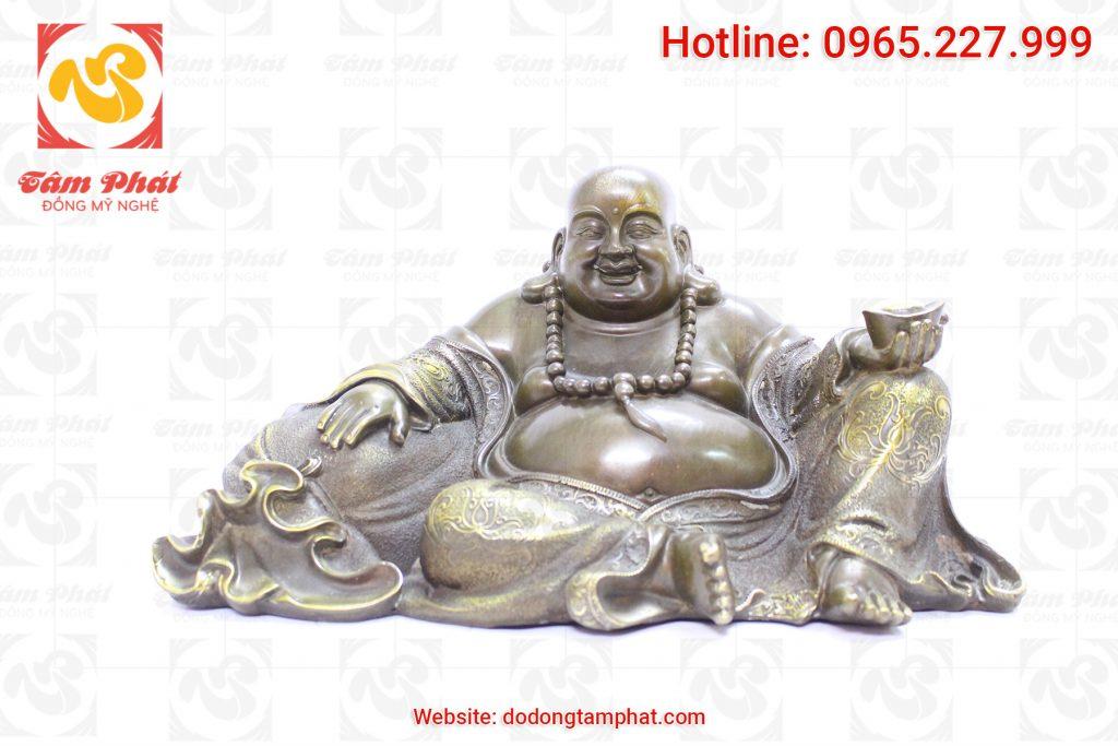 Tượng Phật di lạc bằng đồng