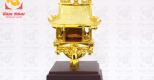 Chùa Một Cột mạ vàng 24K