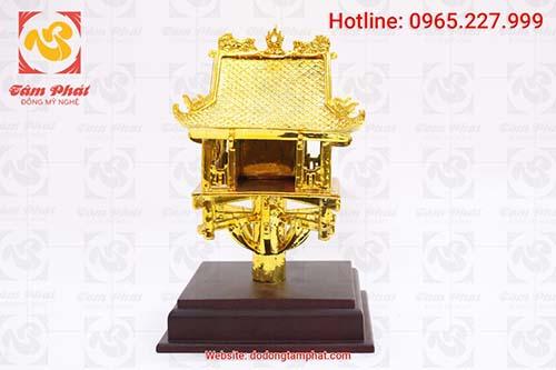 Mặt chính diện chủa Một cột mạ vàng