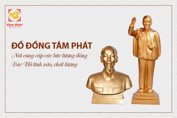 Đồ Đồng Tâm Phát – Nơi cung cấp các bức tượng đồng Bác Hồ tinh xảo, chất lượng