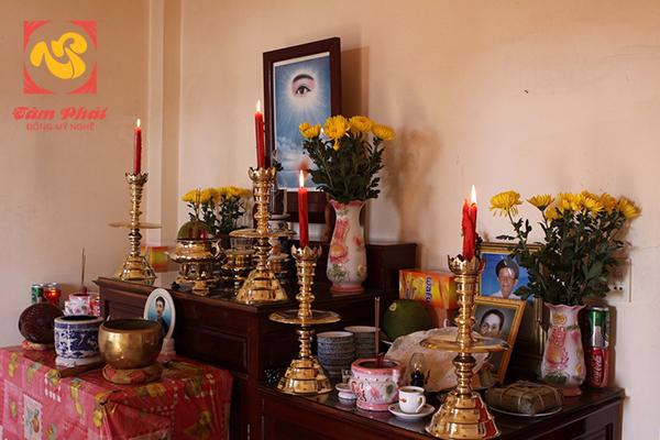 Đồ thờ cúng bằng đồng được rất nhiều gia đình Việt lựa chọn