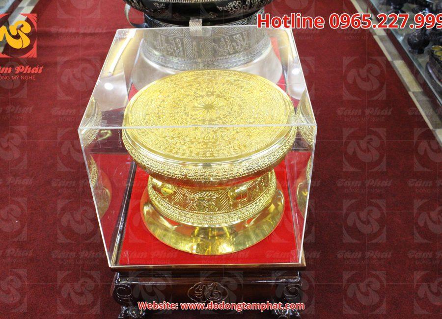 Trống đồng mạ vàng uy tín, chất lượng cao – Đồng mỹ nghệ Tâm Phát