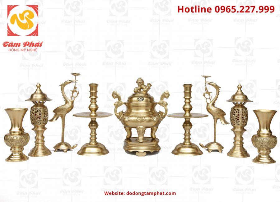 Đồ thờ cúng bằng đồng – Nét đặc trưng văn hóa của người Việt
