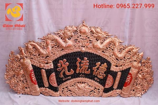 Hoành phi bằng đồng trong văn hóa thờ cúng của người Việt