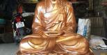 Quá trình đúc tượng Phật bằng đồng thủ công tại Đồng mỹ nghệ Tâm Phát