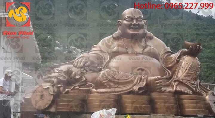 Tượng Phật đồng dành cho những công trình lớn tại Việt Nam