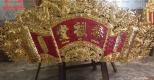 Hoành phi mạ vàng cao cấp, sang trọng của Đồng mỹ nghệ Tâm Phát