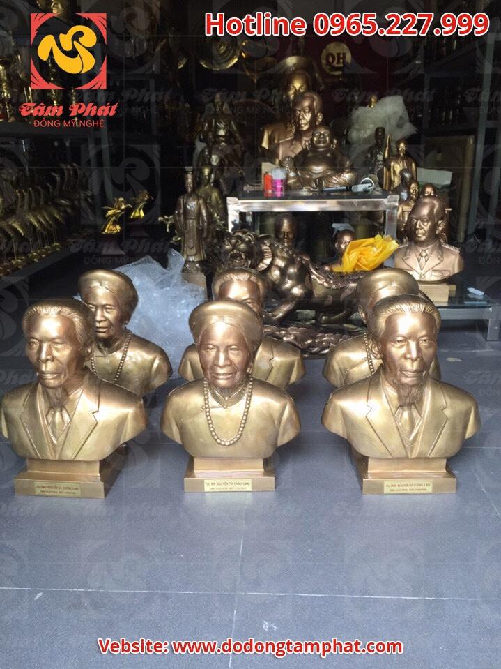 Tượng chân dung, tượng truyền thần lưu giữ nét đẹp Việt