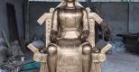 Đúc tượng Quốc Tổ, Quốc Mẫu Lạc Long Quân, Âu Cơ bằng đồng kích thước lớn