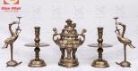 Bộ đồ thờ khảm tam khí bao gồm những gì?