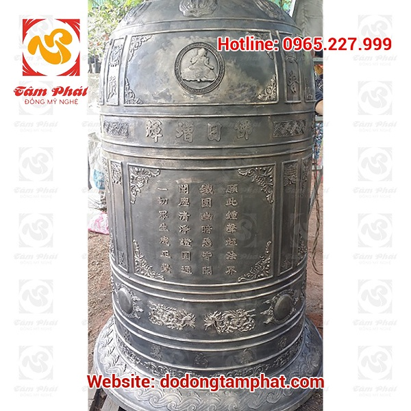 lễ đúc đại hồng chung chùa Phổ Nghiêm Nghi Lộc Nghệ An