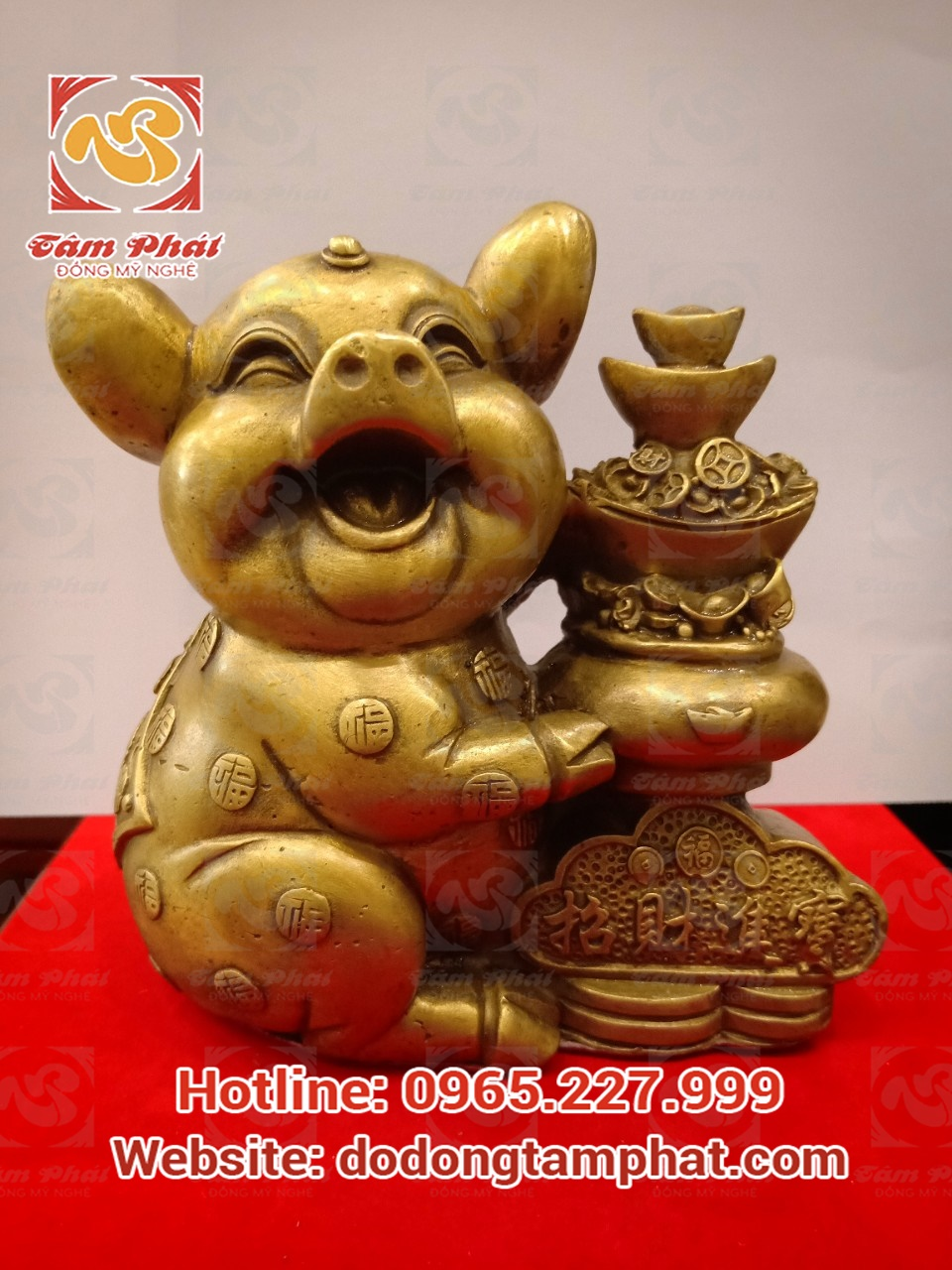 Lợn phong thủy – Linh vật mang lại may mắn thịnh vượng