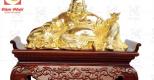 Tượng Phật Di Lặc bằng đồng mang tới bình an, phúc lộc cho gia chủ