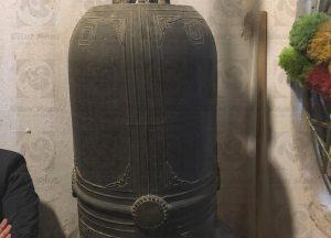 Chuông đồng cao 1m1 sắc thái cổ điển