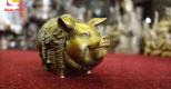 Linh vật lợn bằng đồng – biểu tượng của sự may mắn trong văn hóa Việt