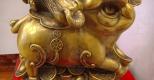 Tượng heo bằng đồng – linh vật phong thủy mang lại may mắn và thịnh vượng