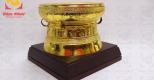Quả trống đồng mạ vàng – quà tặng sang trọng cho cơ quan đoàn thể