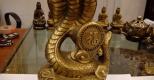 Ý nghĩa và cách đặt tượng rắn bằng đồng trong phong thủy