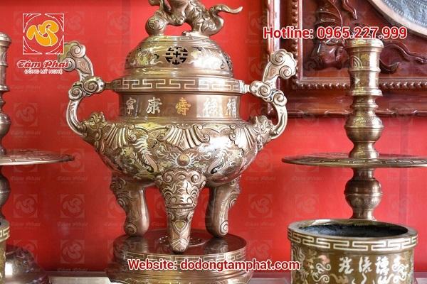 đồ đồng thờ cúng Tâm Phát