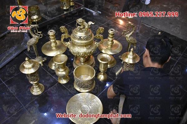 Lý do khiến khách hàng ưa chuộng đồ đồng thờ cúng của Tâm Phát