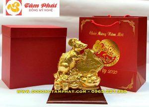 Quà tặng chuột vàng tài lộc cho năm mới Canh Tý 2020
