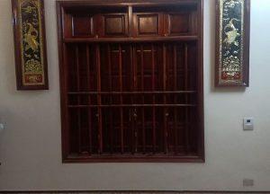 Cặp tranh cá chép Lý Ngư Vọng Nguyệt bằng đồng khung gỗ