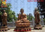 Tượng Phật Thích Ca bằng đồng – Toả ánh hào quang của Phật pháp nhiệm màu