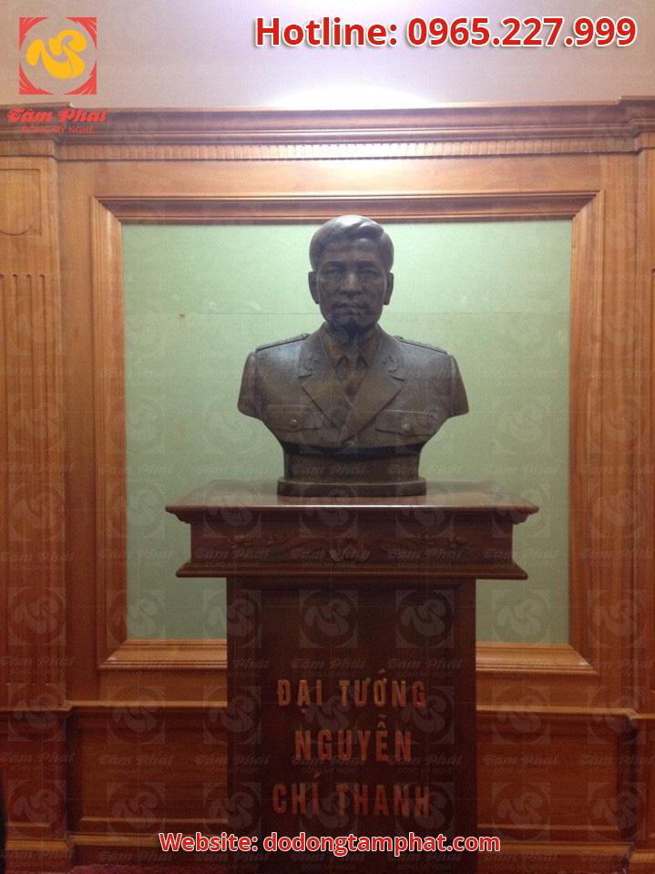 Công trình đúc tượng đại tướng Nguyễn Chí Thanh