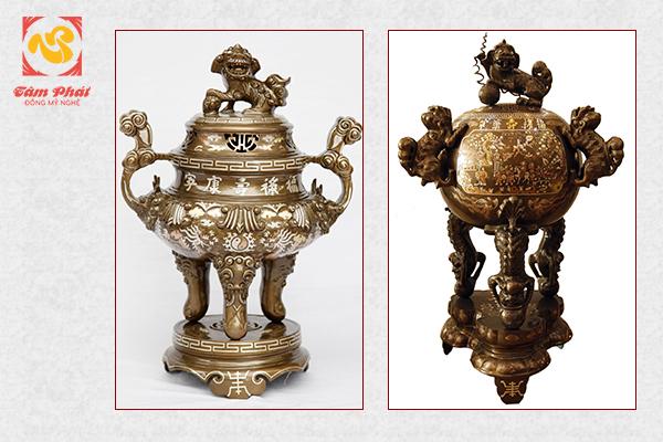 Lư đồng cổ trong văn hóa thờ cúng  của người Việt