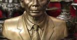 Tượng truyền thần cụ Trần Văn Cừ cao 42cm đồng đỏ đầy thần thái
