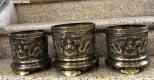 Bộ đồ thờ đồng vàng cạo màu đã về showroom Tâm Phát