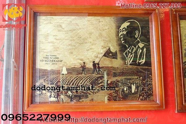 Tranh đồng khắc họa chiến thắng Điện Biên Phủ