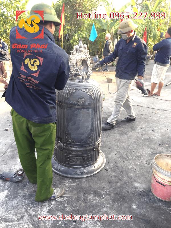Đồng Tâm Phát nhận đúc chuông – tượng cho đền, chùa trên toàn quốc