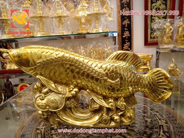 Ý nghĩa của tượng đồng Cá Chép vượt Vũ Môn