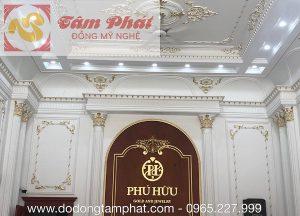Dự án thi công dát vàng biệt thự tại Nghệ An
