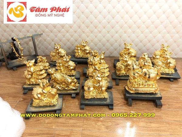 Một số mẫu quà tặng chuột vàng cao cấp đẹp nhất