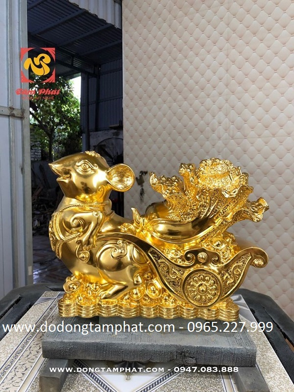 Các thiết kế chuột vàng Chiêu Tài cho năm Canh Tý