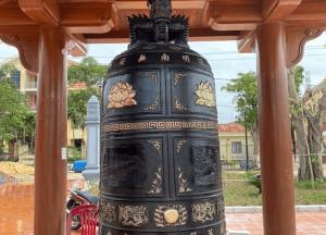 Đúc chuông đồng giá sản xuất - chuông đồng mẫu đẹp nhất hiện nay dành cho chùa.!!