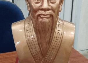 Tượng Hải Thượng Lãn ông bằng đồng cao 42cm