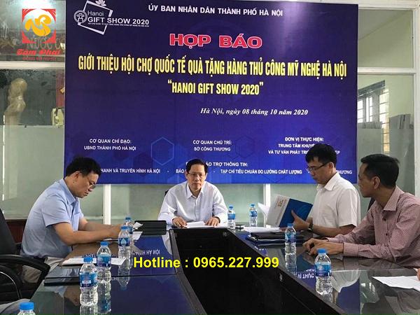 Chương trình khuyến mại của Tâm Phát Gold Luxury tại sự kiện Hanoi Gift Show 2020!
