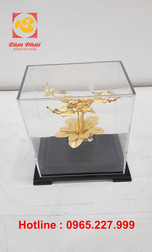 Hoa đồng mạ vàng 24k đẹp tinh xảo - món quà ý nghĩa nhất