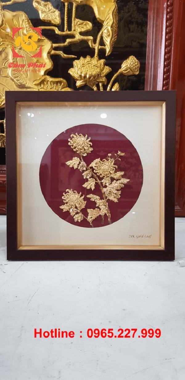 Những bức tranh đồng mạ vàng 24k nổi bật cho năm Tân Sửu 2021